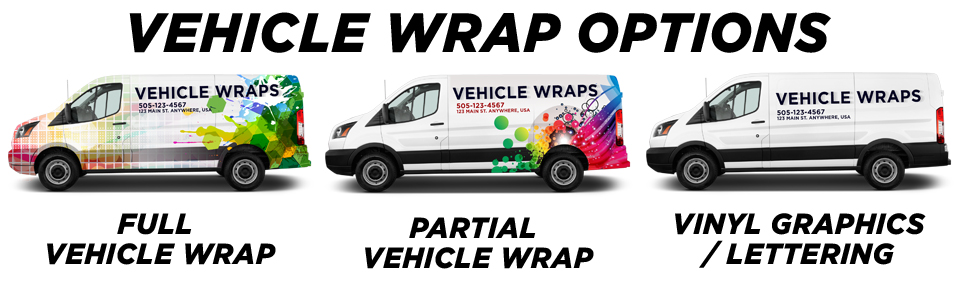 Nashville Vehicle Wraps vehicle wrap options