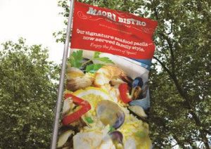 custom outdoor promotional banner