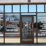 Trade Show Exhibits Copy of Chiropractic Office Window Decals 150x150