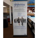 La Vergne Trade Show Displays banner vinyl tradeshow retractable indoor 150x150